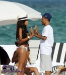 Bikini Clad Angela Simmons Gets Cozy With Rapper Bow Wow