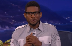 usher on Conan